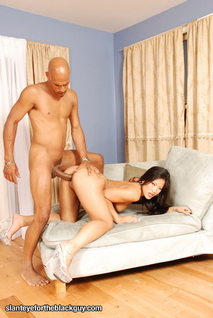Christina Aguchi gets a taste of Black Dick
